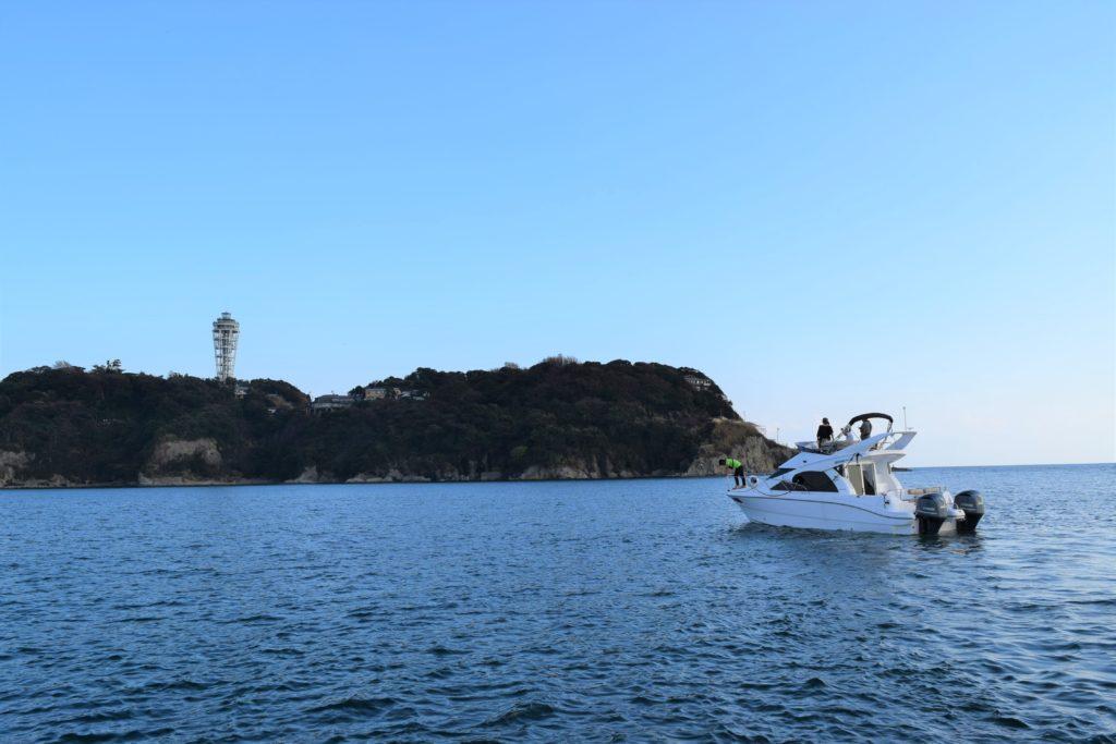 Sea-Stye Chaeter 体験クルーズ SR320FB 江の島
